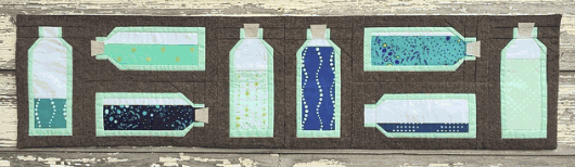 the workroom - bottled up - row by row