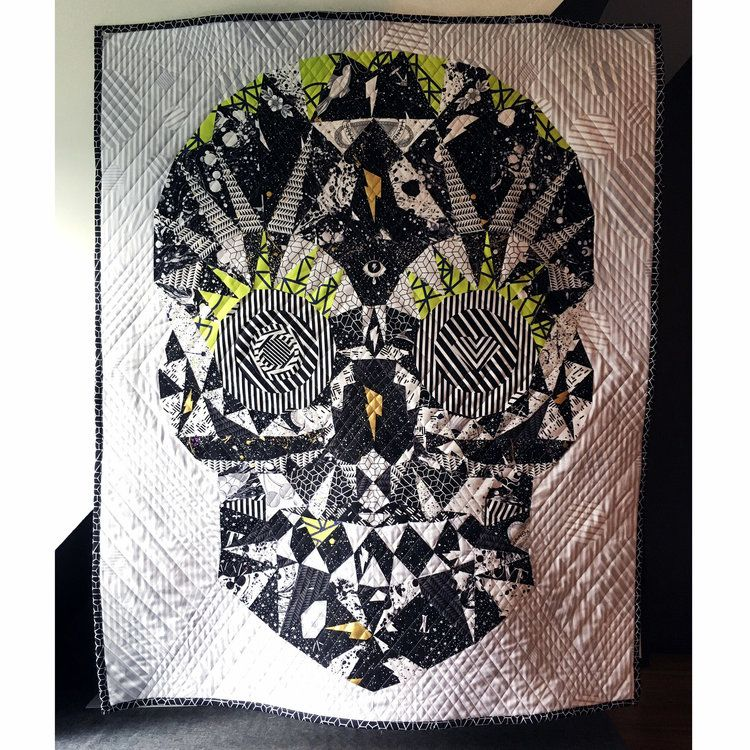libs elliott - watcher skull - laser cut kit