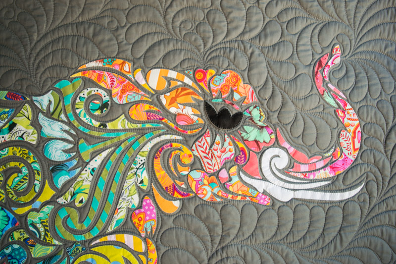 All Star Elephant Laser Cut Quilts