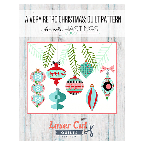 A Very Retro Christmas Pattern