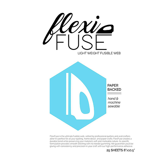 FlexiFuse - (25) 10.5 x 8 inch Sheets