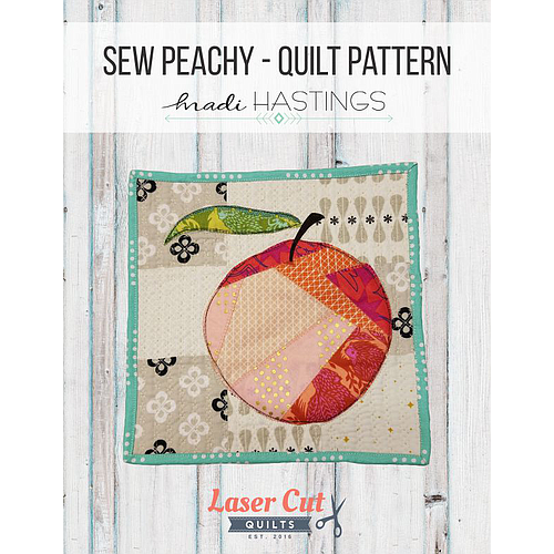Sew Peachy Mini Quilt Pattern